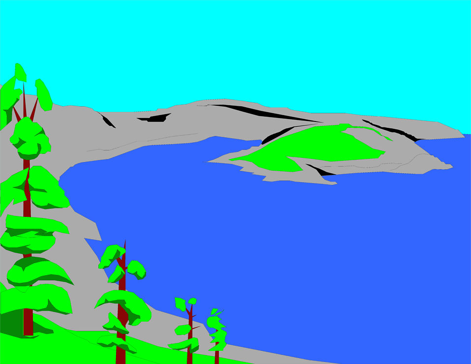 lake clipart - photo #3
