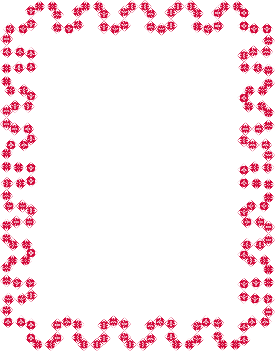 Illustration of a blank red frame border : Free Stock Photo