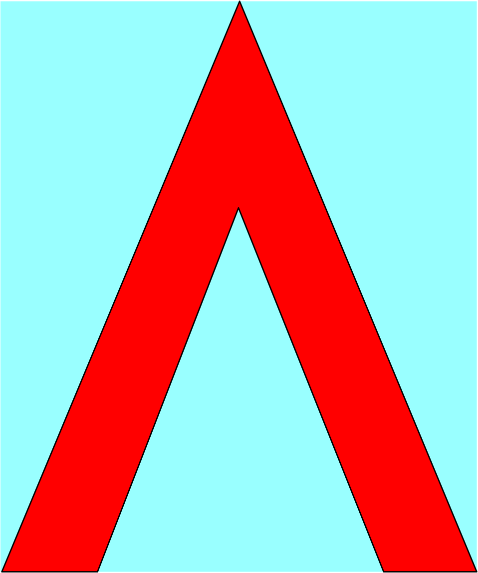 Illustration of a red up arrow : Free Stock Photo