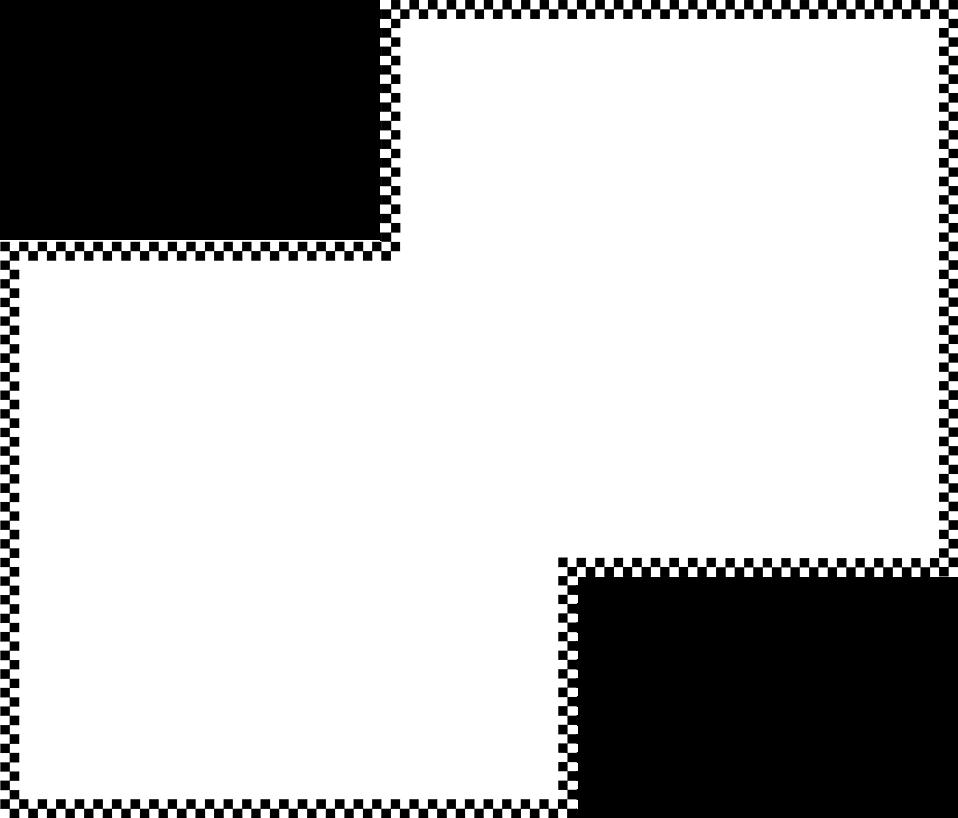 Illustration of a blank odd shaped frame border : Free Stock Photo