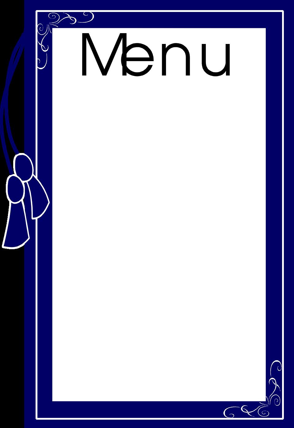 Menu   Free Stock Photo   Illustration of a blank food ...