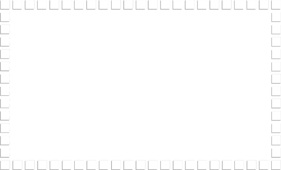 Illustration of a blank frame border of small squares : Free Stock Photo