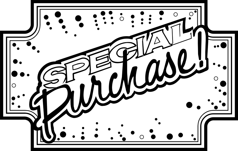 Illustration of special purchase sales text : Free Stock Photo