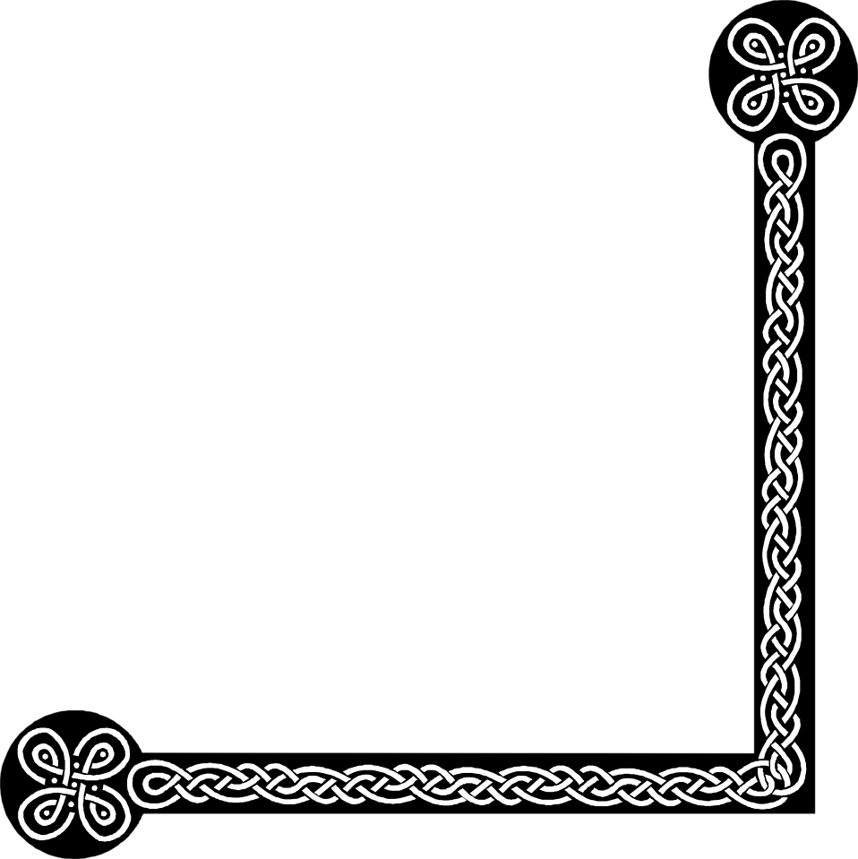 Illustration of a lower right frame corner : Free Stock Photo