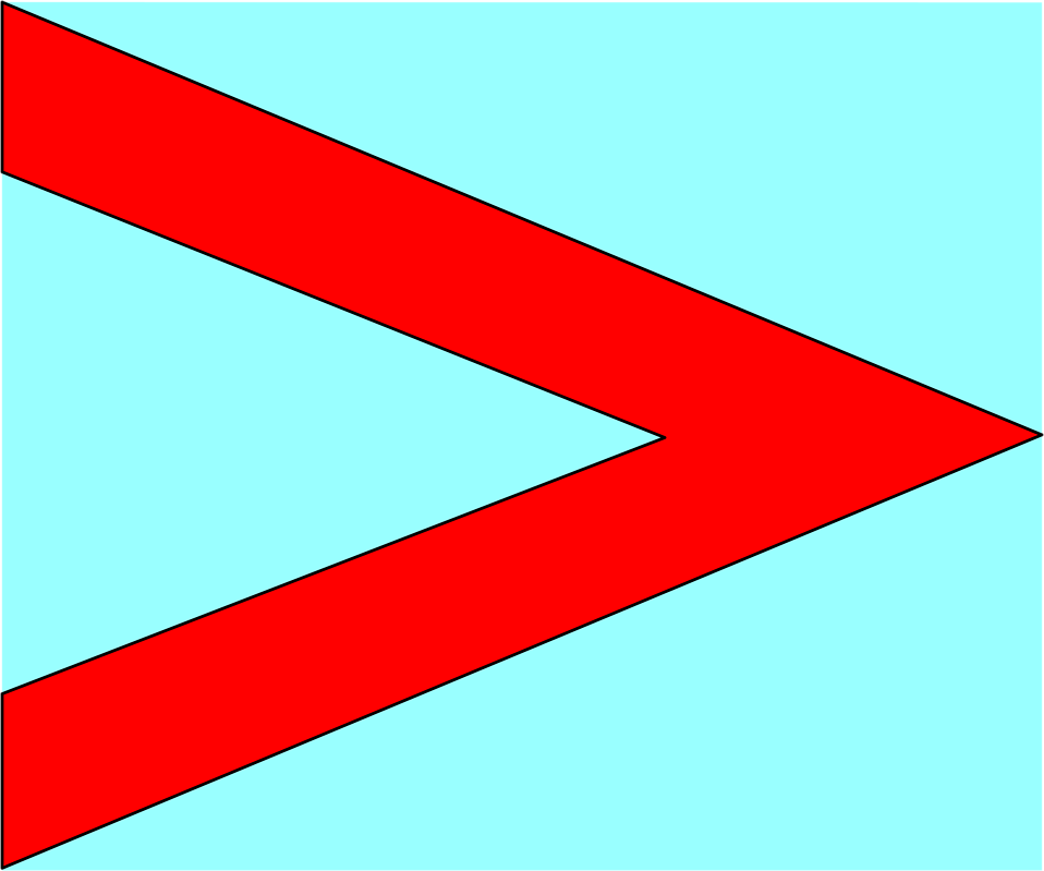 Illustration of a red right arrow : Free Stock Photo