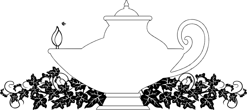 Illustration of a genie lamp : Free Stock Photo