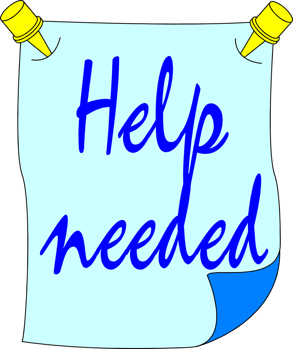 Illustration of a help needed sign : Free Stock Photo