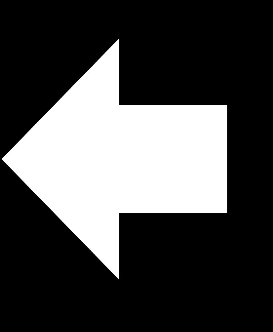 Illustration of a 3d left arrow : Free Stock Photo