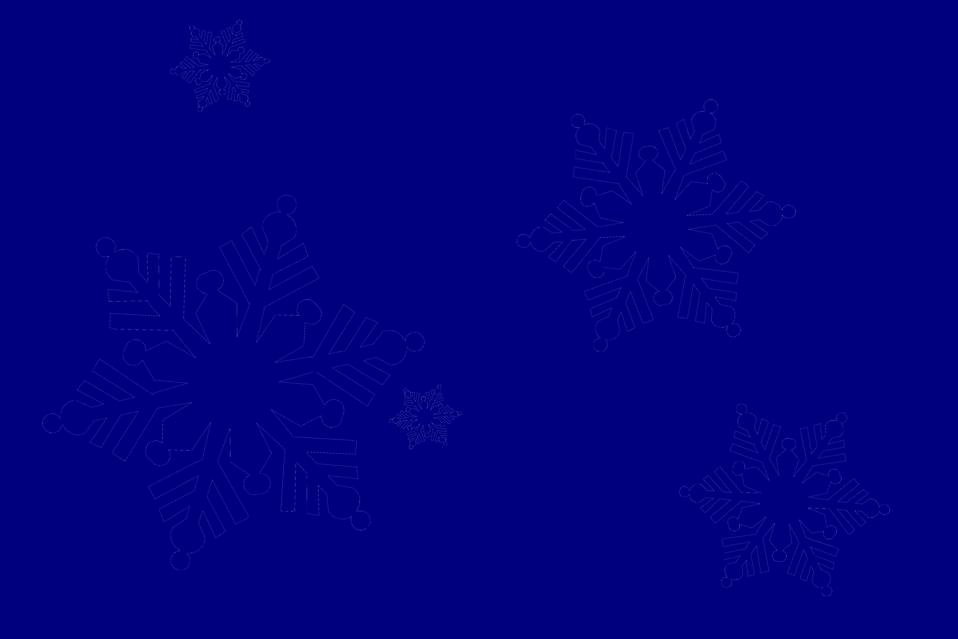 Illustration of snowflakes : Free Stock Photo