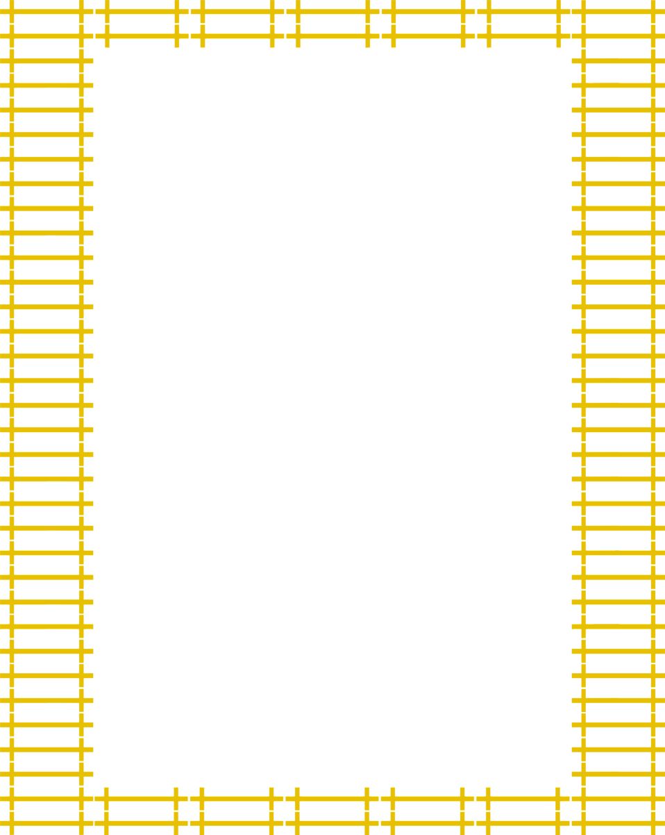 Illustration of a blank yellow frame border : Free Stock Photo
