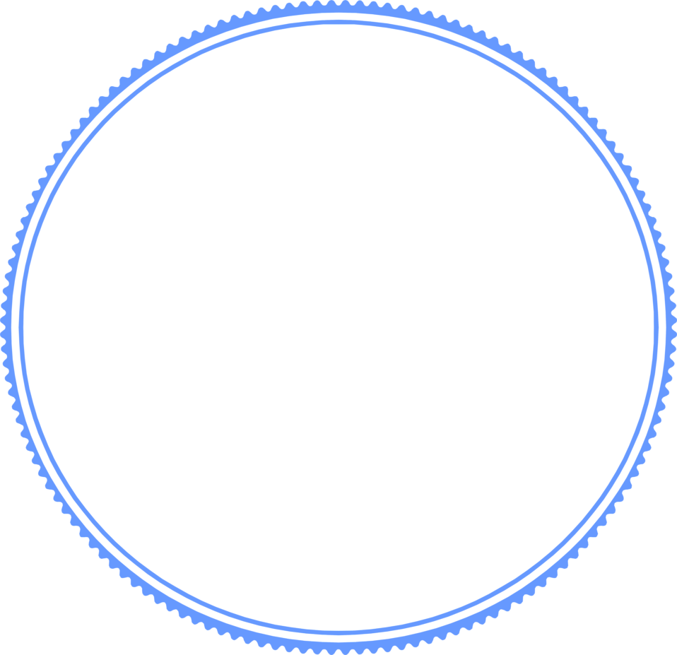 Illustration of a blank circular frame : Free Stock Photo