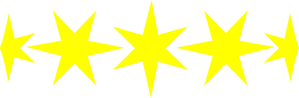 Illustration of yellow stars : Free Stock Photo