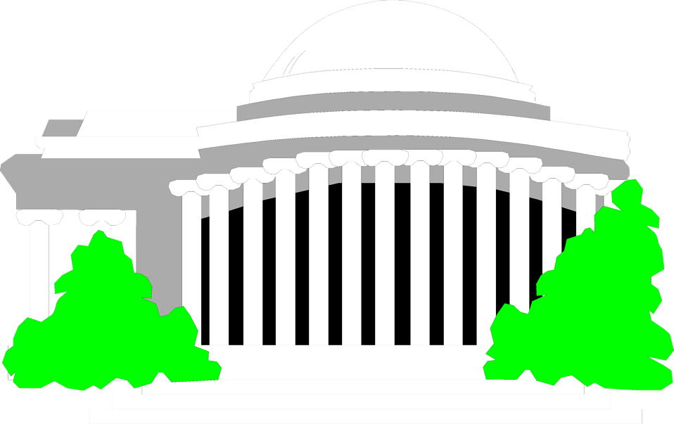 Illustration of the Jefferson Memorial in Washington, DC : Free Stock Photo
