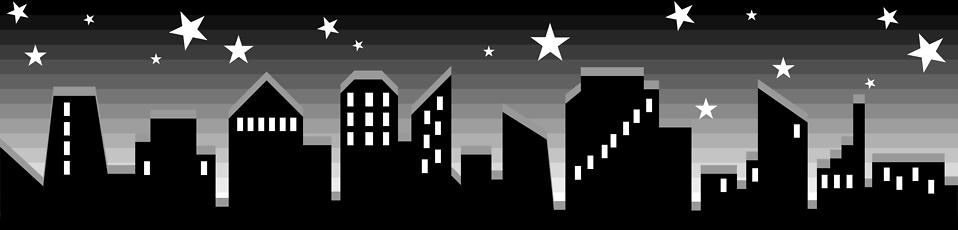 Illustration of city skyline : Free Stock Photo