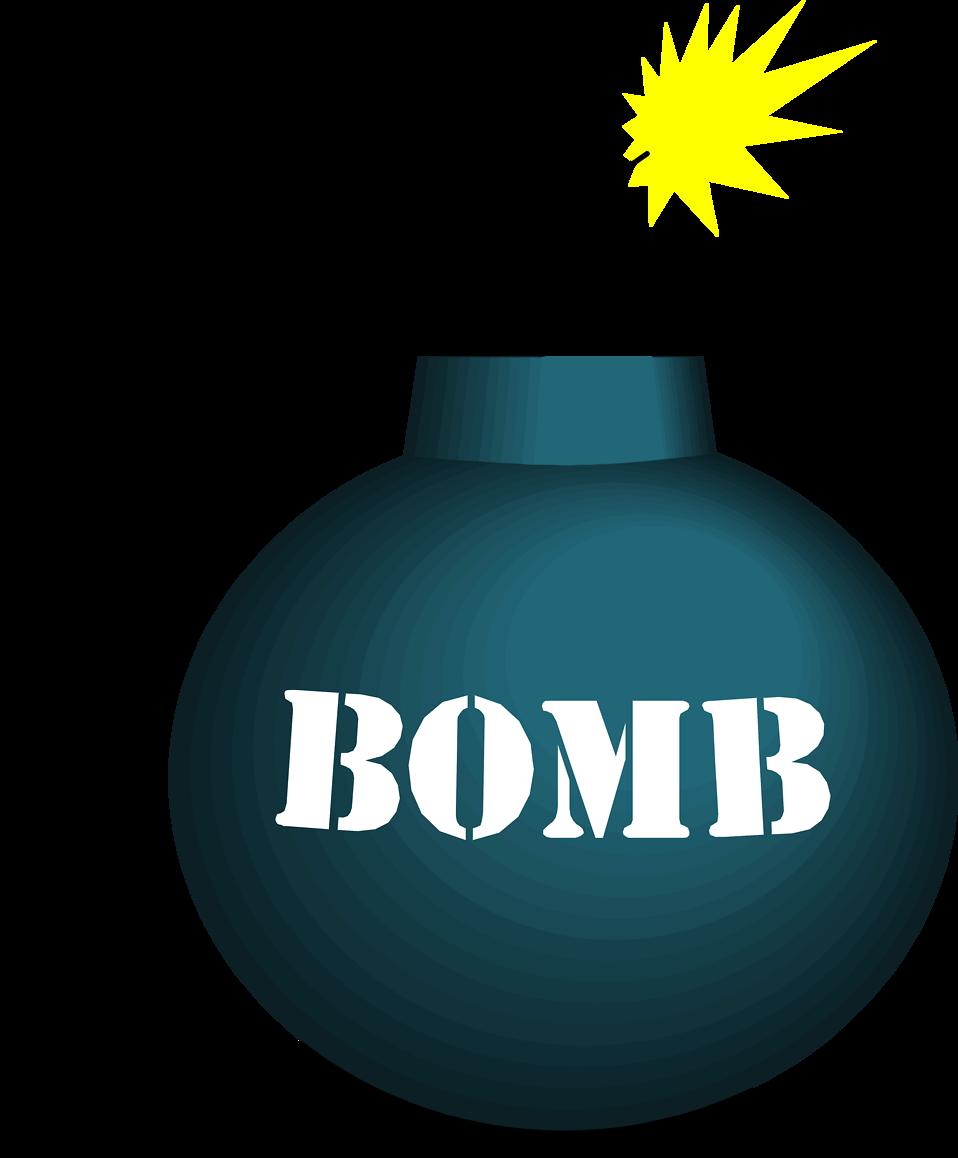 Illustration of a bomb : Free Stock Photo