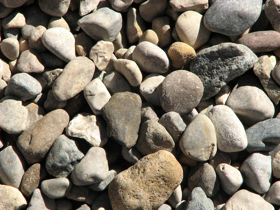 Closeup of small rocks : Free Stock Photo