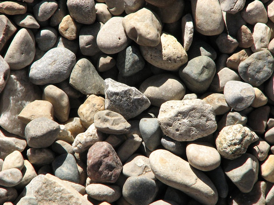 Closeup of small rocks : Free Stock Photo