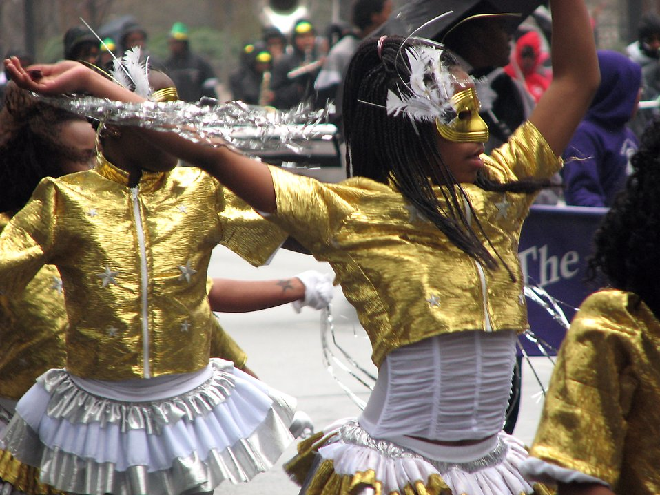 Dancers in the 2009 Atlanta Saint Patricks Day Parade : Free Stock Photo