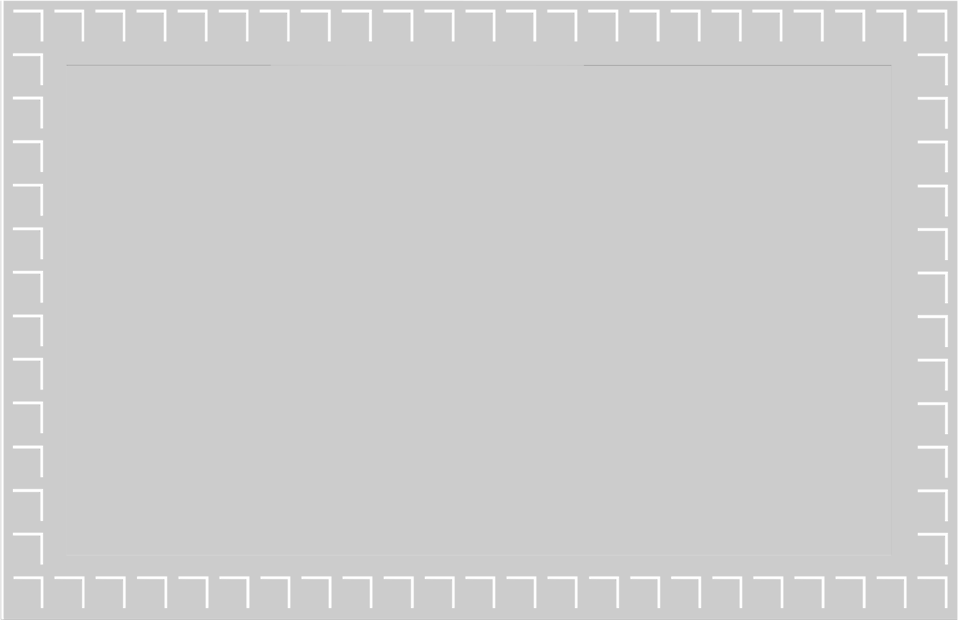 Illustration of a blank gray frame border : Free Stock Photo