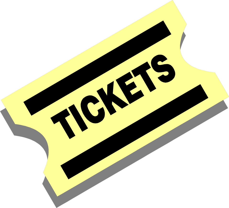 Illustration of a yellow ticket : Free Stock Photo