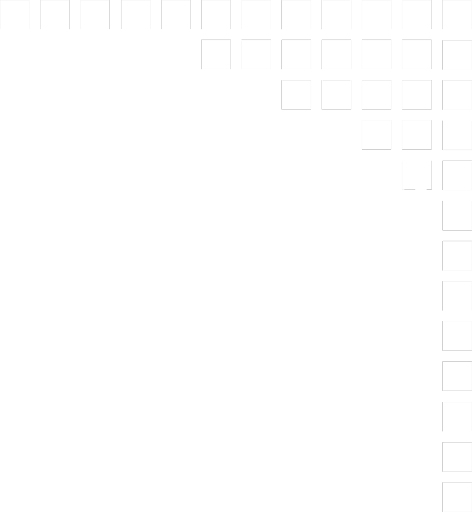 Illustration of an upper right frame corner of small squares : Free Stock Photo