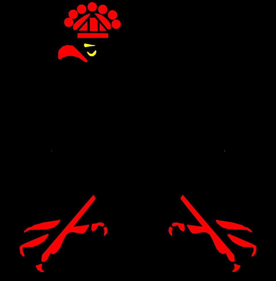Illustration of a black eagle : Free Stock Photo