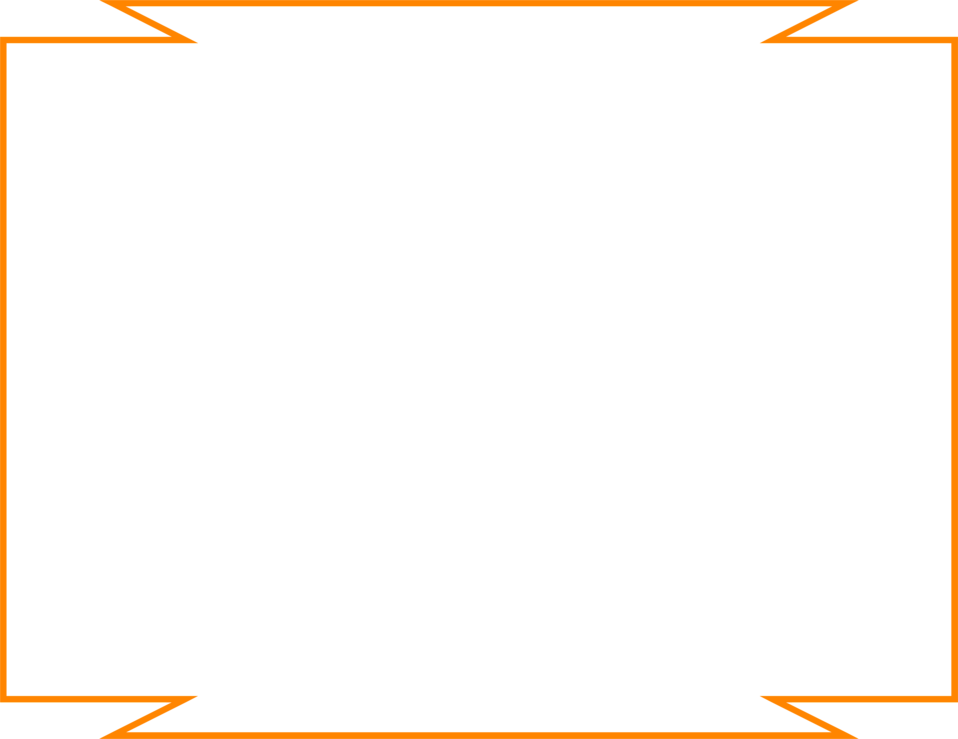 Illustration of a blank orange frame border : Free Stock Photo