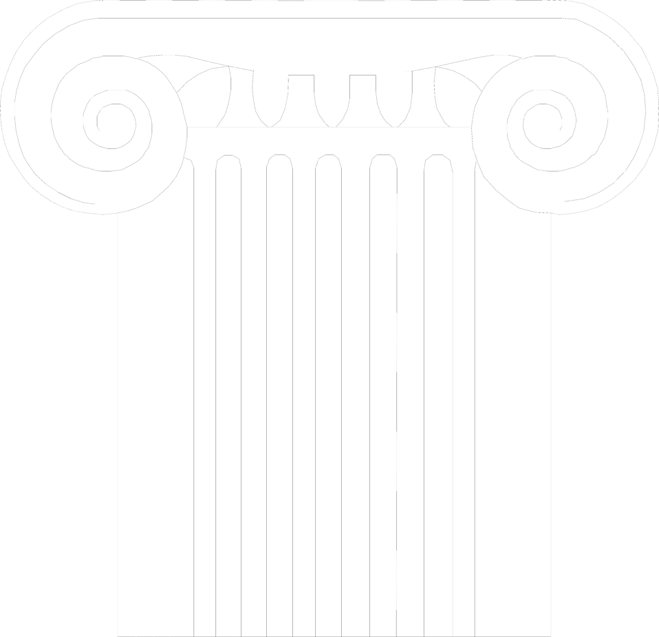 Illustration of an Ionic column : Free Stock Photo