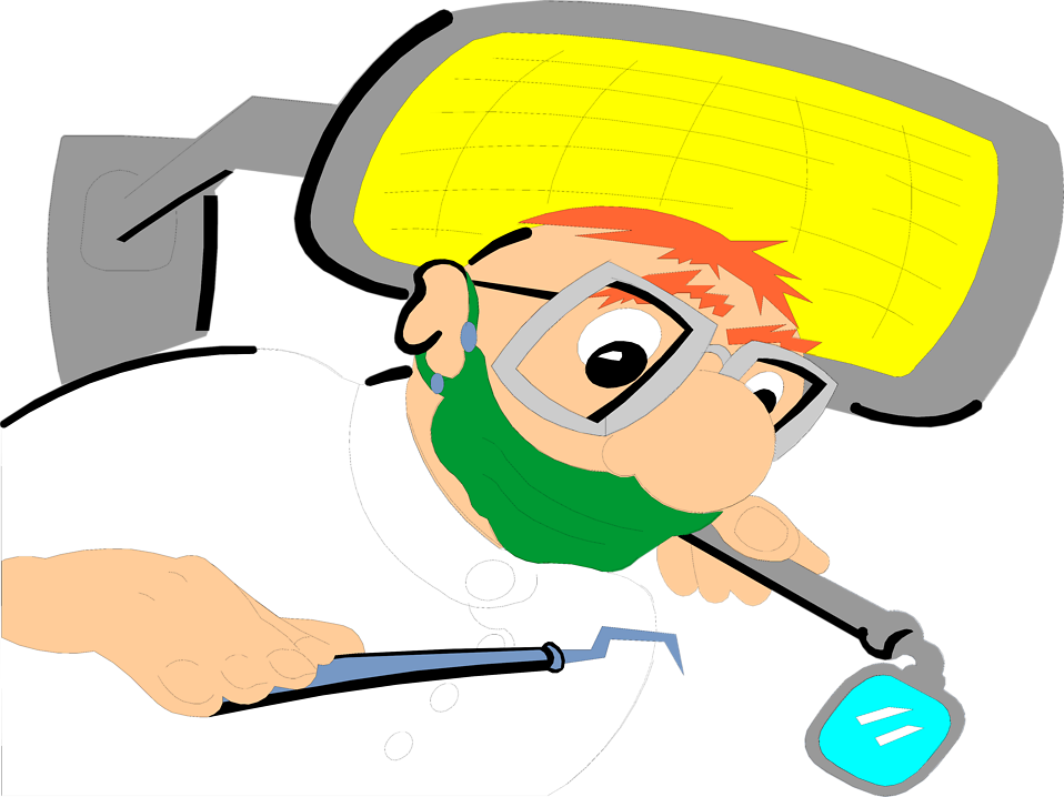 Illustration of a dentist : Free Stock Photo