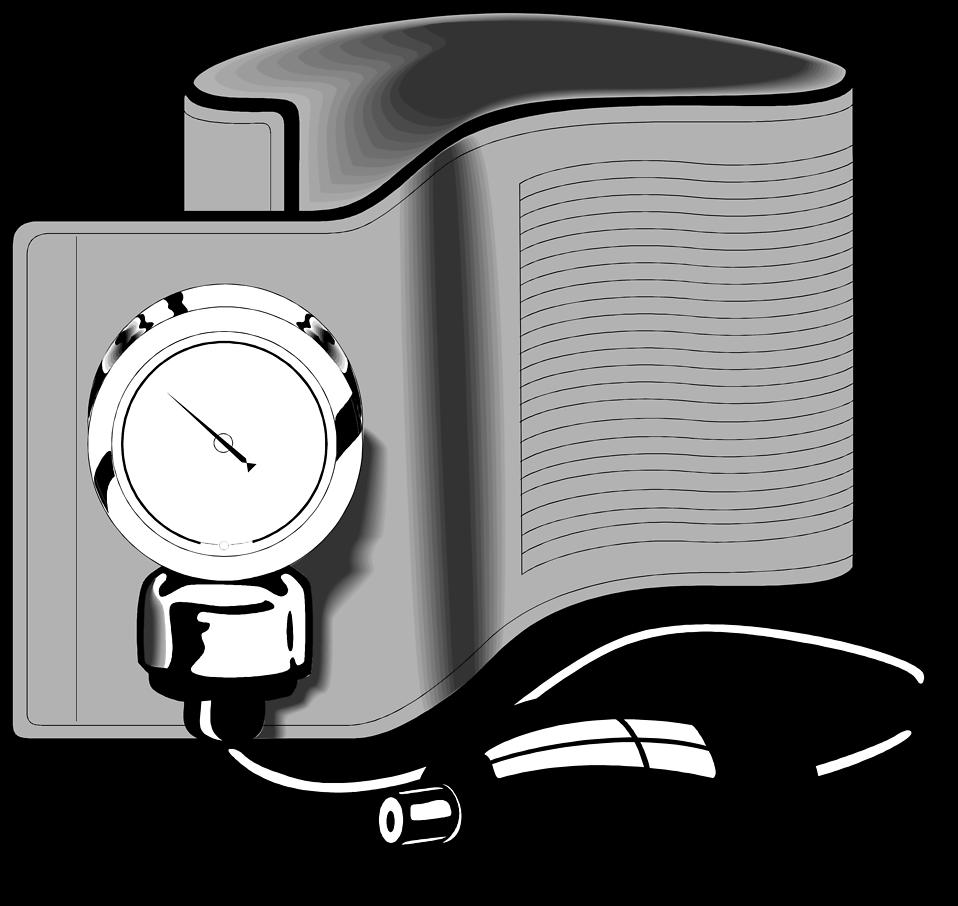 Free Stock Photo  Illustration of a blood pressure cuff Blood Pressure Cuff Cartoon