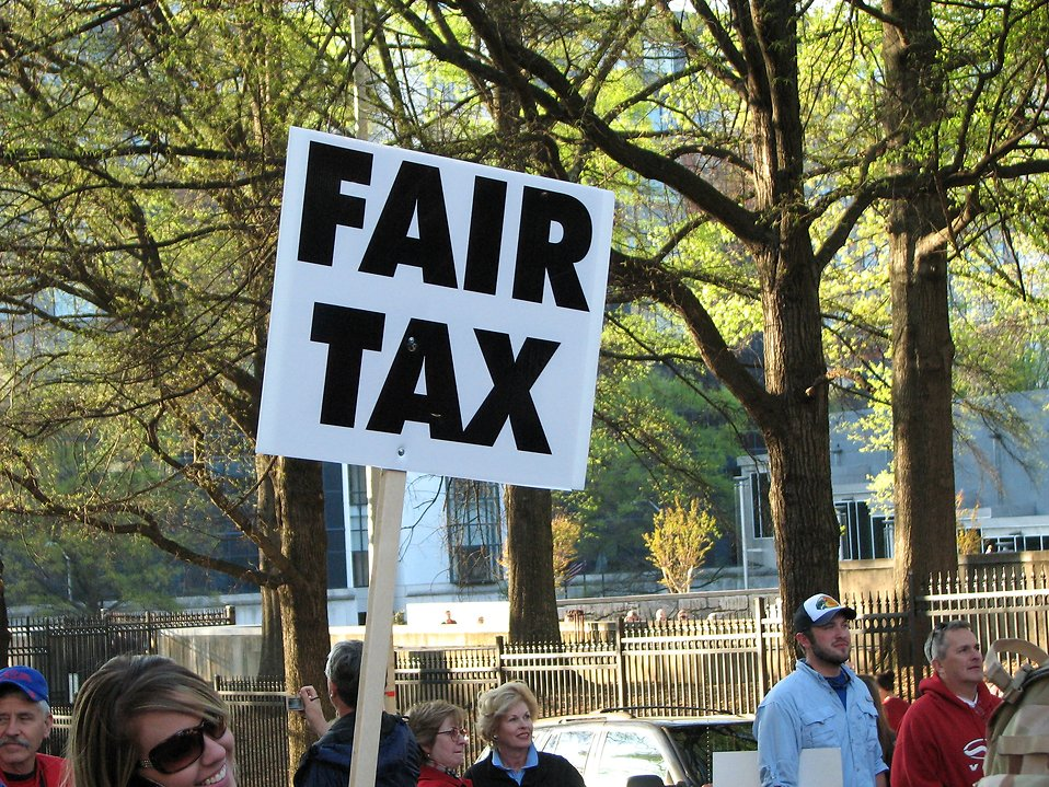 Free Stock Photos | A protest sign at the 2009 tax day tea ...