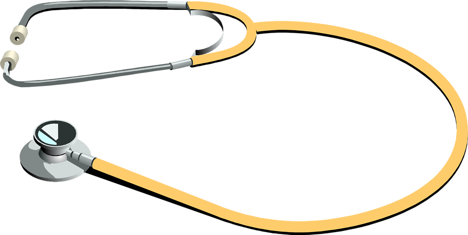 Illustration of a stethoscope : Free Stock Photo