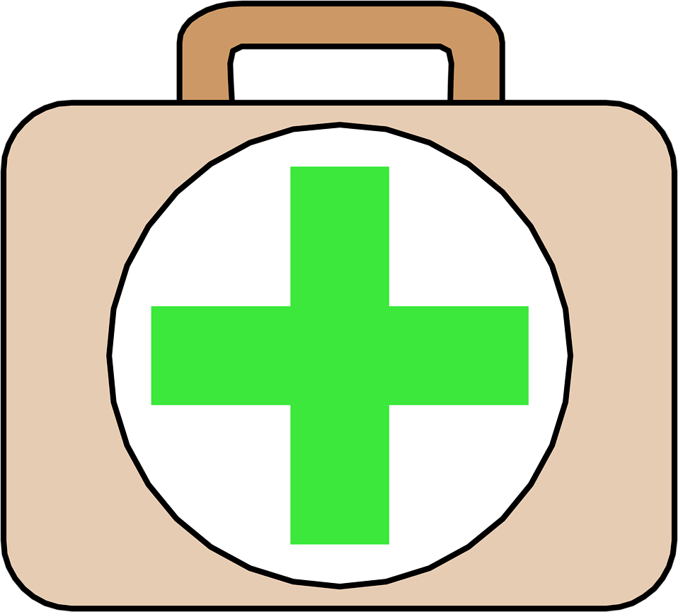 Illustration of a first aid kit : Free Stock Photo