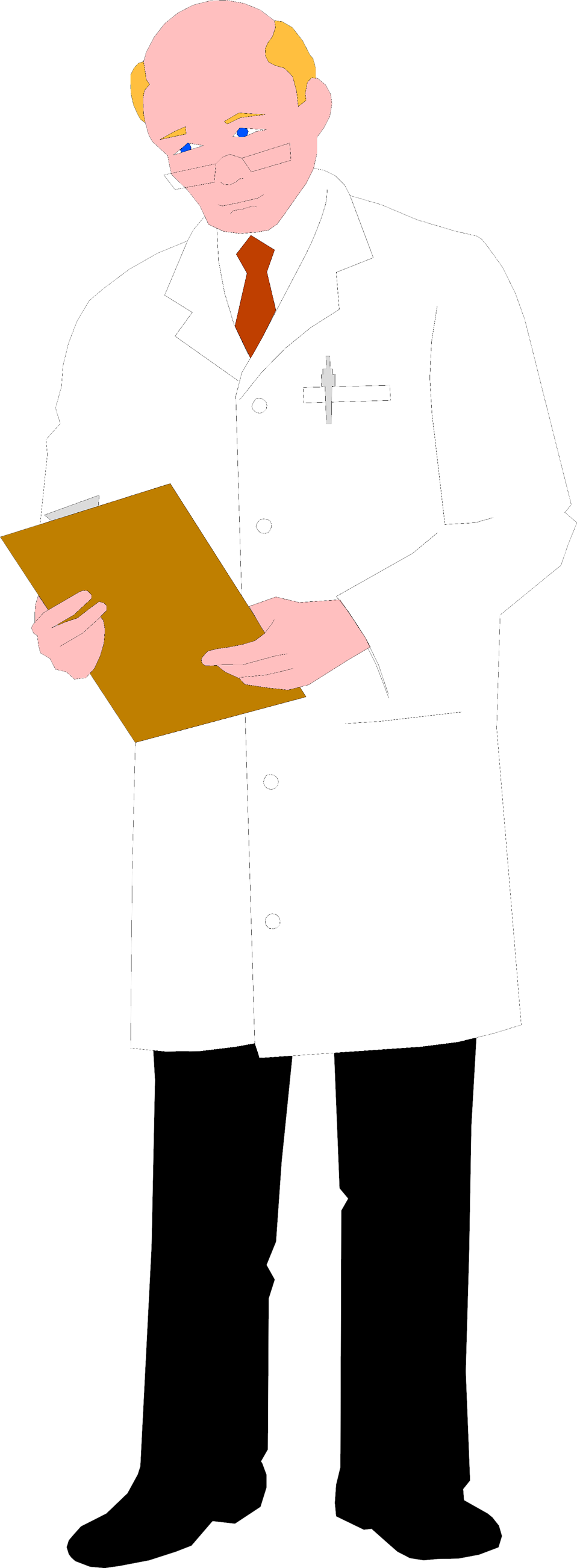Illustration of a doctor : Free Stock Photo