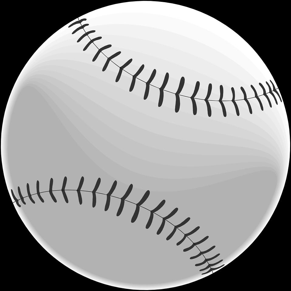 Illustration of a baseball : Free Stock Photo