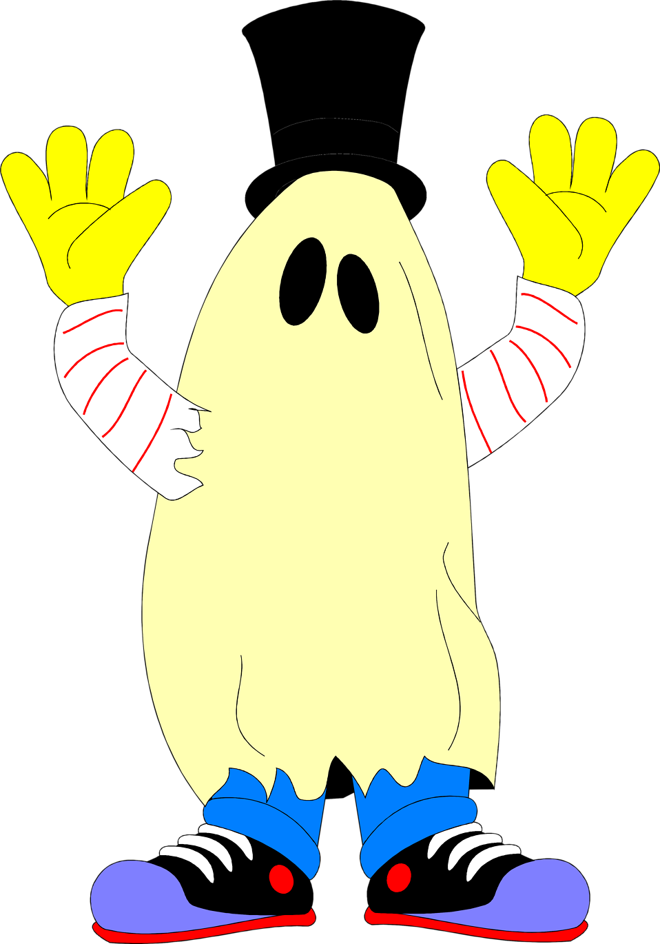 Illustration of a ghost costume : Free Stock Photo