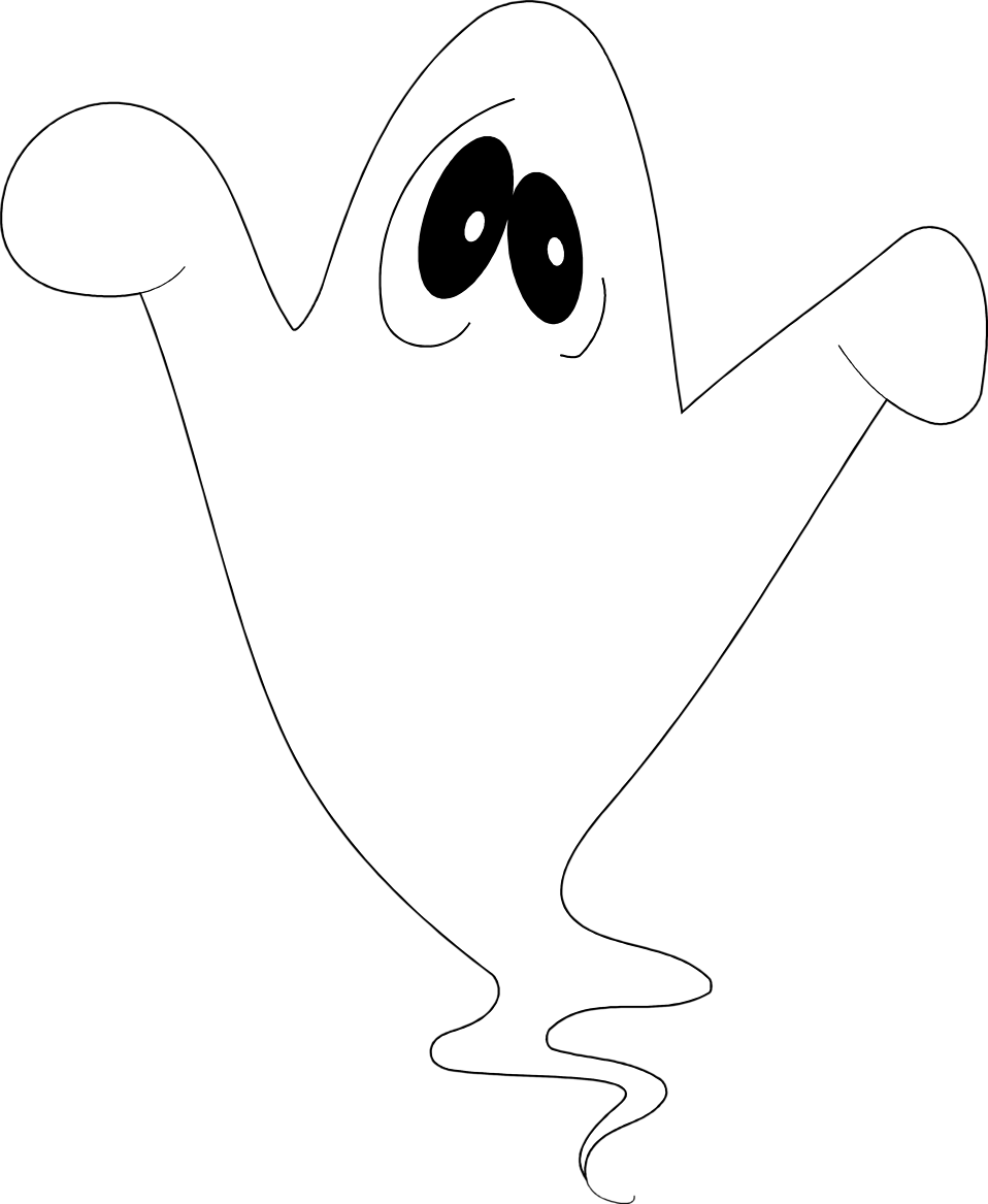 Illustration of a ghost : Free Stock Photo