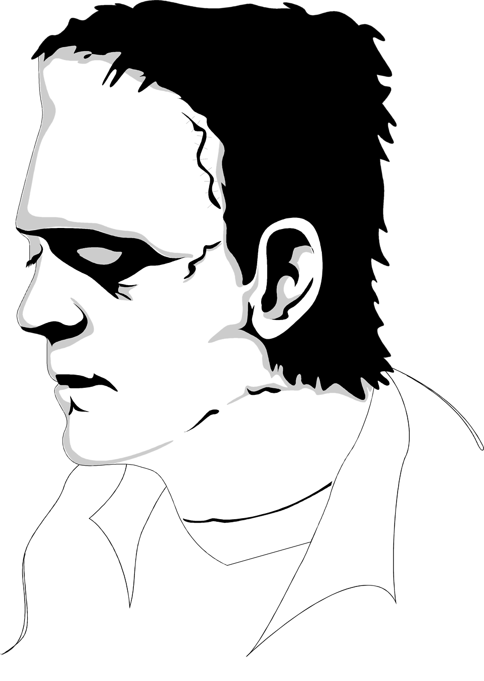 Illustration of the Frankenstein monster : Free Stock Photo