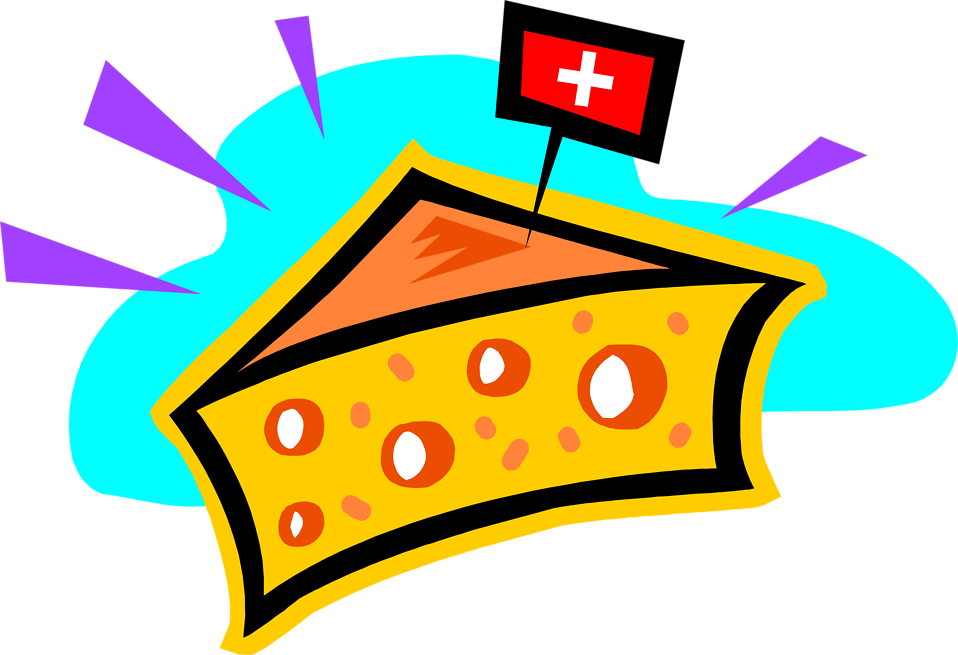 Illustration of swiss cheese : Free Stock Photo