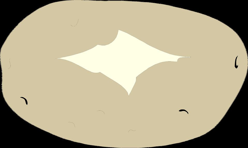 Illustration of a potato : Free Stock Photo