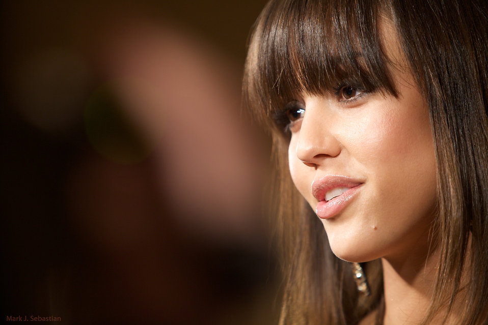 Jessica Alba at the Declare Yourself Inauguration Ball : Free Stock Photo