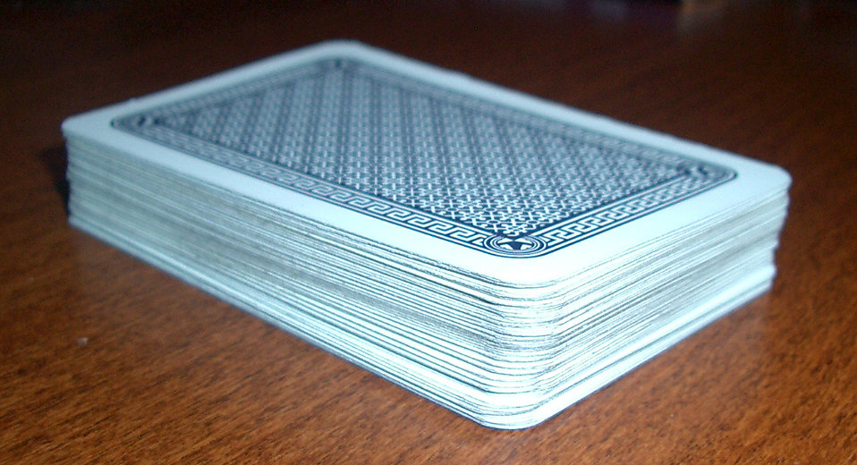 A deck of playing cards : Free Stock Photo