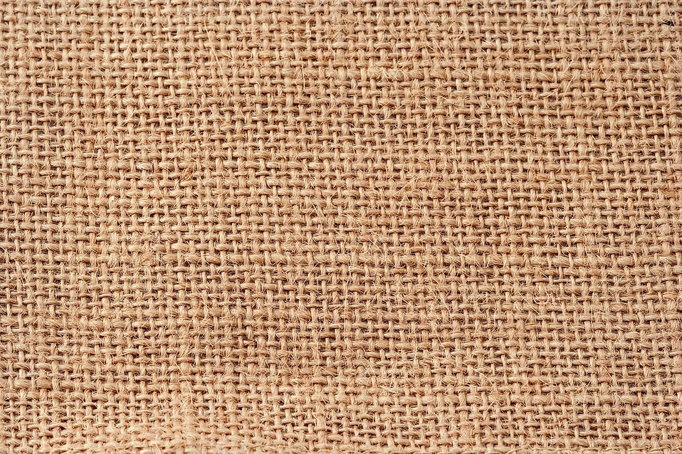 A jute patterned background : Free Stock Photo