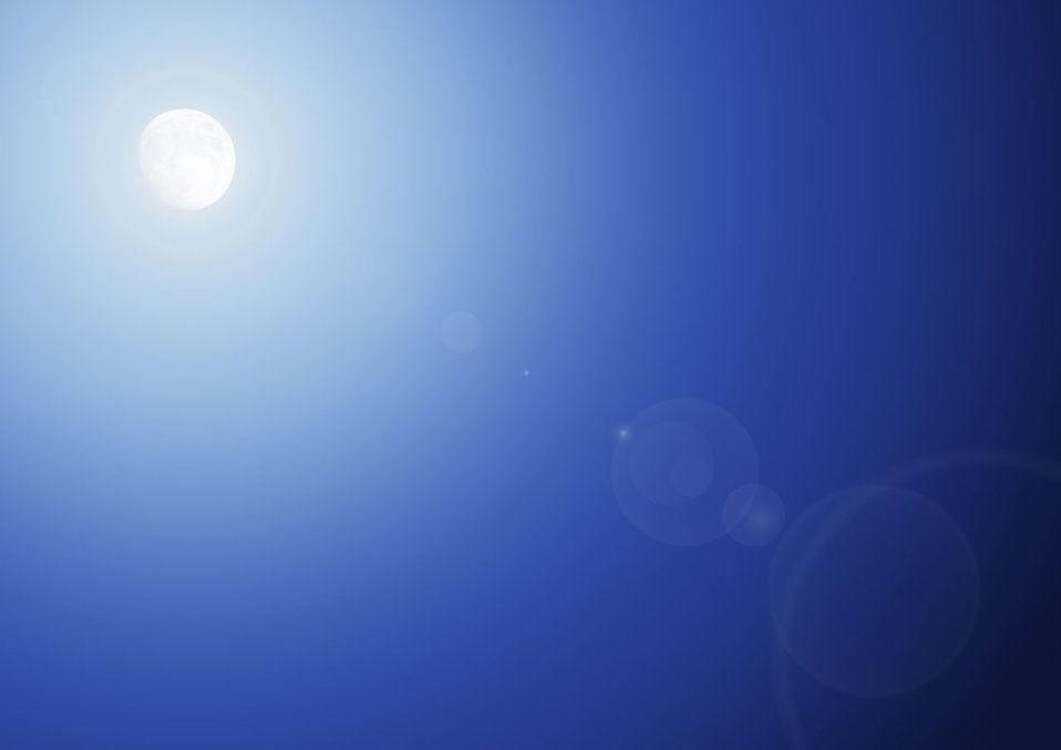Background with the moon and reflecting light : Free Stock Photo