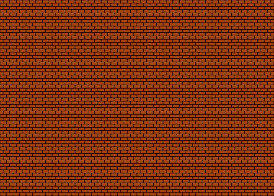 Illustration of a brick wall background : Free Stock Photo