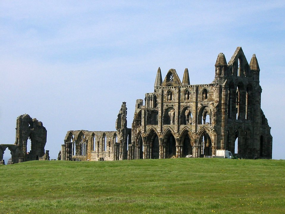 Whitby abbey in North Yorkshire : Free Stock Photo