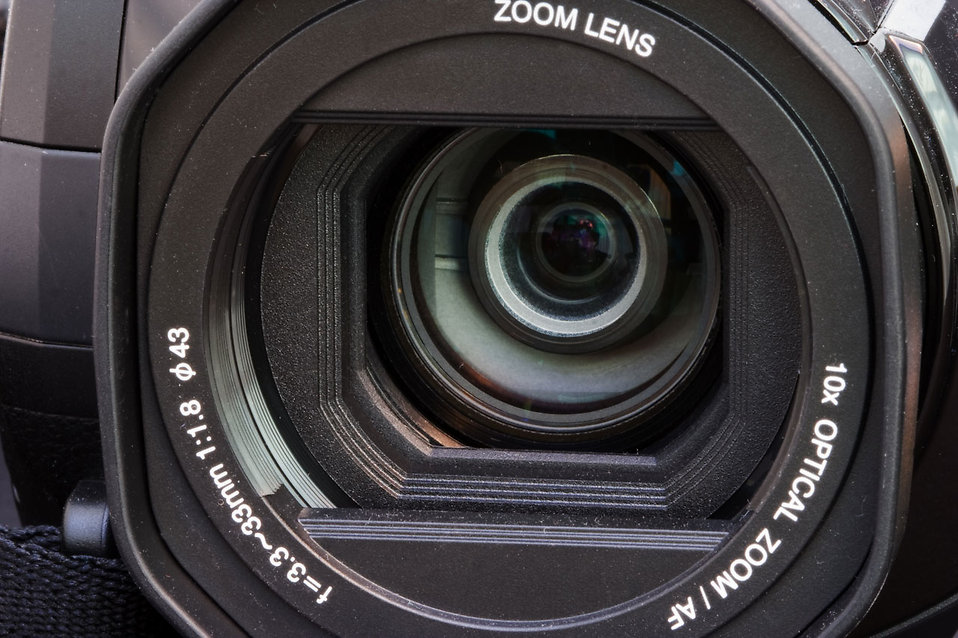 Close-up of a camera lens : Free Stock Photo