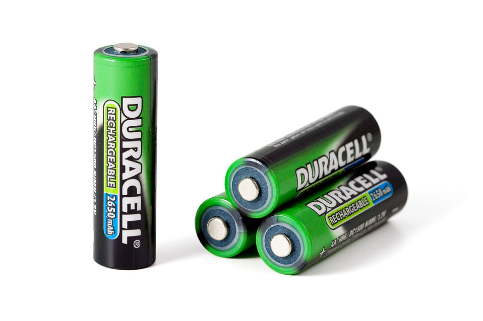 AA batteries isolated on a white background : Free Stock Photo
