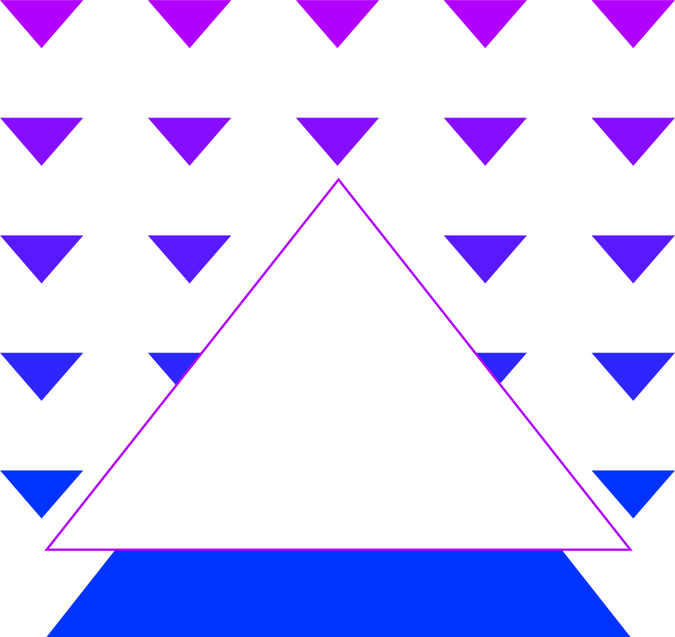 Illustration of multiple triangle shapes : Free Stock Photo