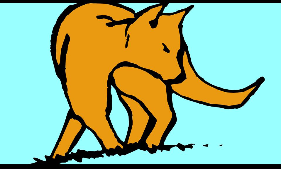 Illustration of a fox : Free Stock Photo